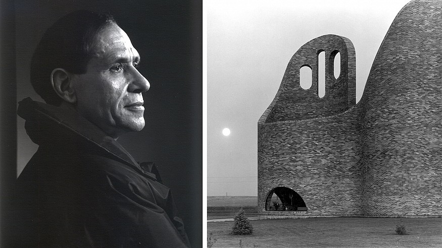 Canadian architect Douglas Cardinal believes buildings must grow out of nature