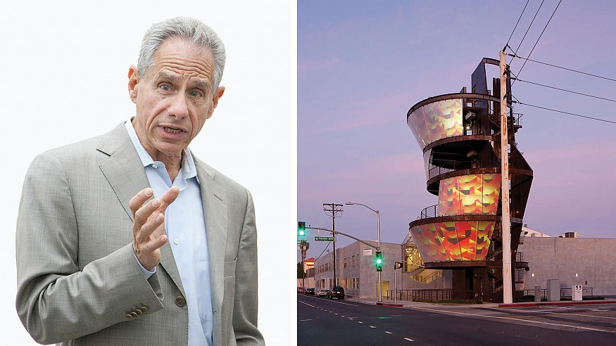 US-based architect Eric Owen Moss insists the world must revise itself continuously