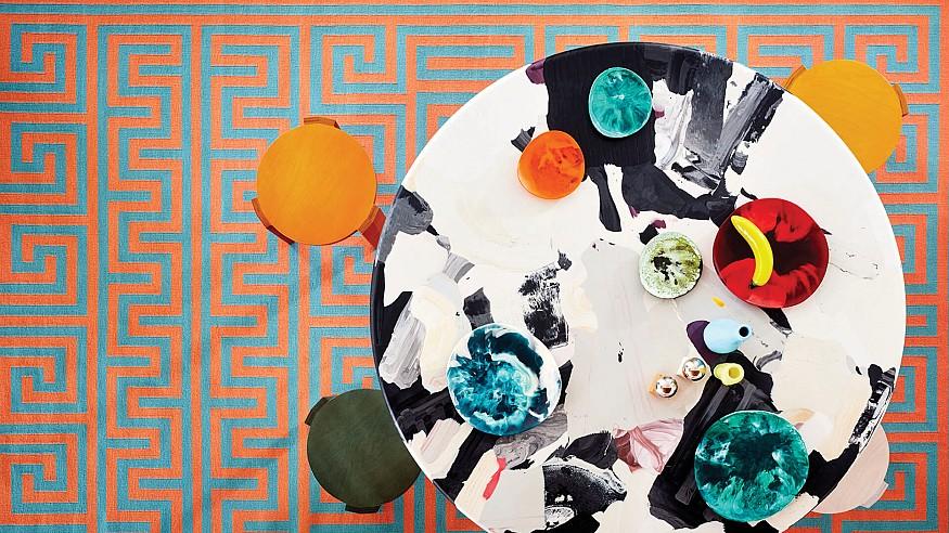 Adam Nathaniel Furman's 'joyously deviant' Mediterranean rugs for FLOOR_STORY