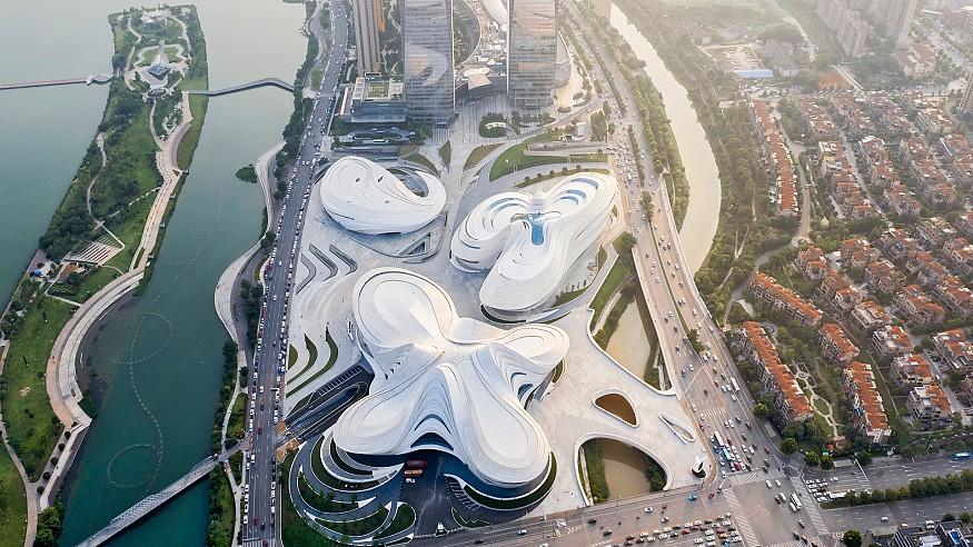 Zaha Hadid Architects' new arts museum, MICA, opens in China
