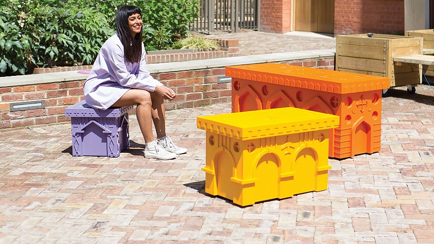 London Festival of Architecture unveils the winners of City Benches competition