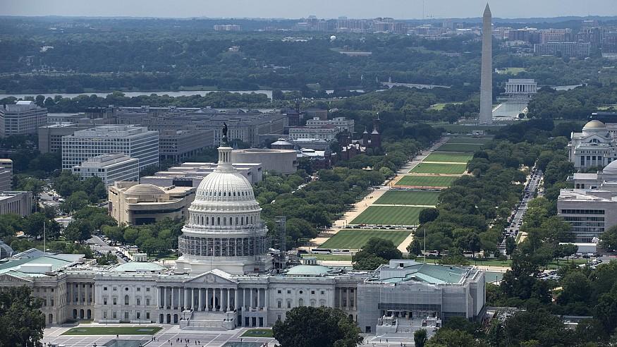 A comparison of great Central Vistas: New Delhi vis-à-vis Washington DC