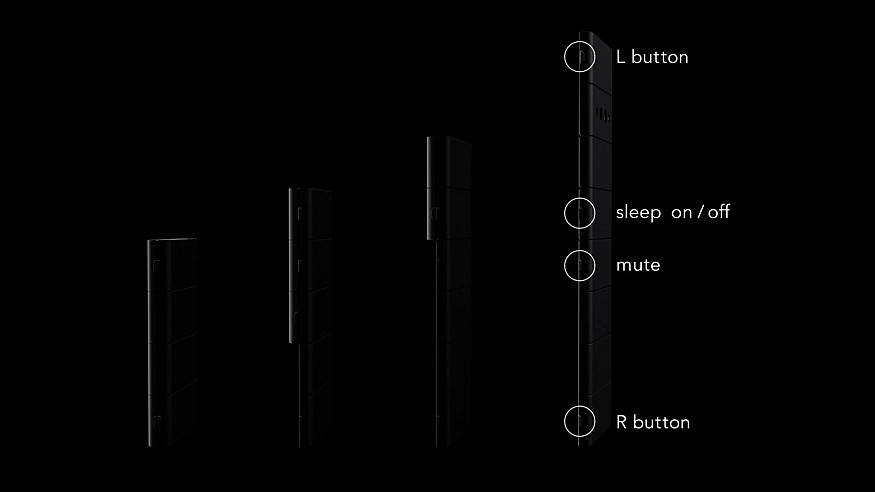 Nendo's new smartphone design for Oppo folds down into a credit card sized wonder