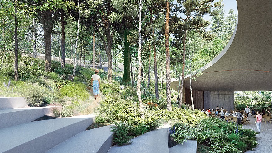 CHYBIK+KRISTOF envisions nature at the heart of Moscow's Senezh Management Lab