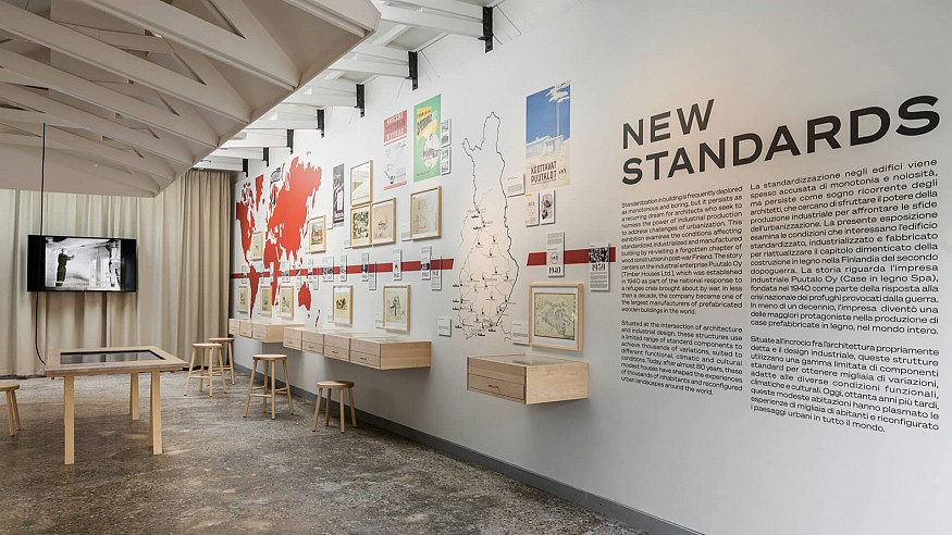 'New Standards' relooks at history of Finnish industrial enterprise Puutalo Oy