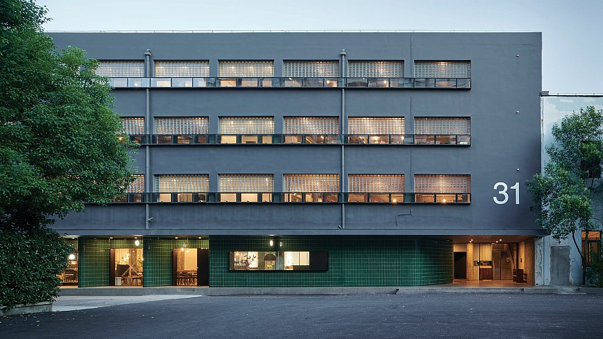 Neri&Hu adaptively reuses bare decrepit structure to house its headquarters