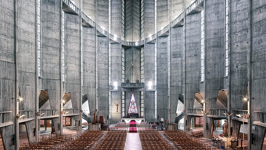 Thibaud Poirier explores the revised gospel of modernist churches with Sacred Spaces