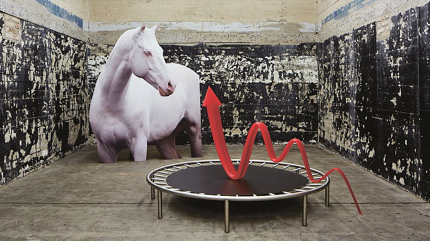 Katja Novitskova discusses her series of installations, <em>Pattern Of Activation</em>