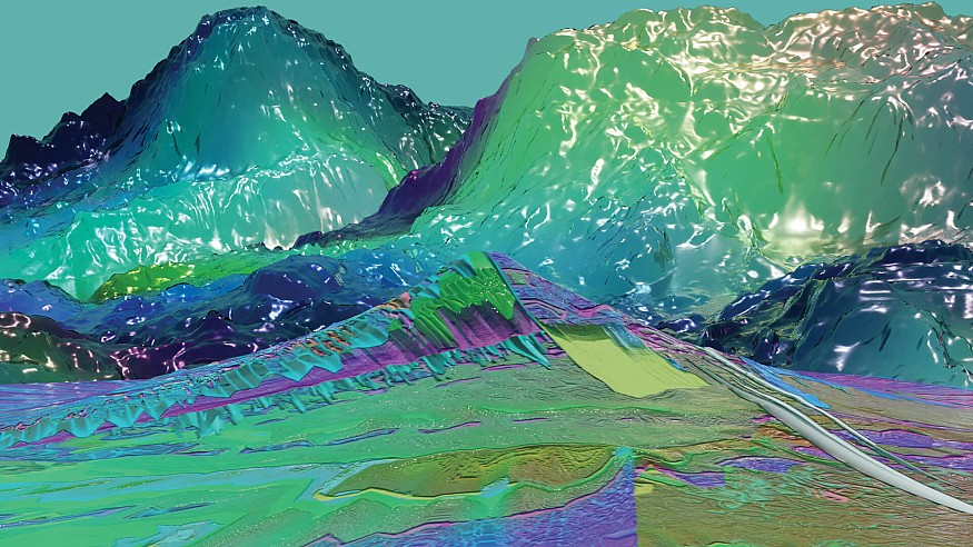 Digital interlinkage: visiting the worlds of American glitch artist Sky Goodman