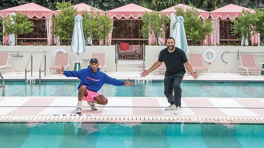 A peek inside Pharrell Williams - David Grutman's Goodtime Hotel in Miami