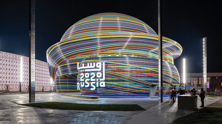 Sergei Tchoban on his double dome-inspired Russian Pavilion at the Expo 2020 Dubai