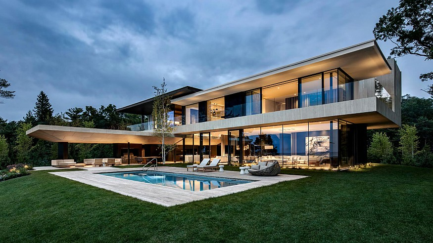 SAOTA creates family getaway experience with Lake Huron residence in Canada