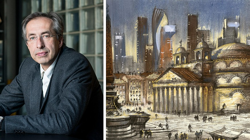 Architect Sergei Tchoban on his passion for the art of architectural drawings