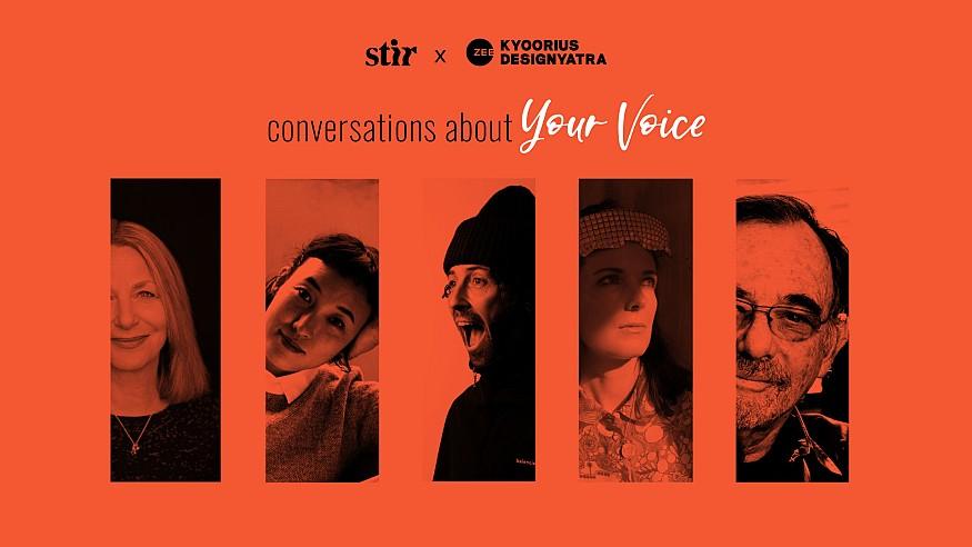 STIR X Kyoorius Designyatra 2020: Conversations About Your Voice