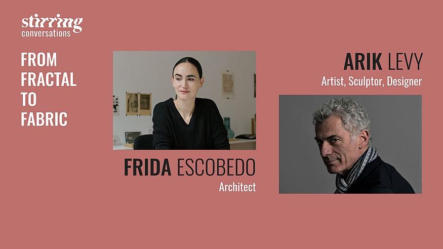 Arik Levy and Frida Escobedo: manifesting masterpieces from the molecular