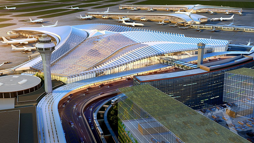 Studio ORD wins the contract to design O'Hare International Airport in Chicago