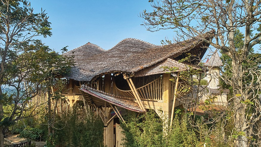 RAW Architecture creates a bricolage of vernacular architecture in Piyandeling