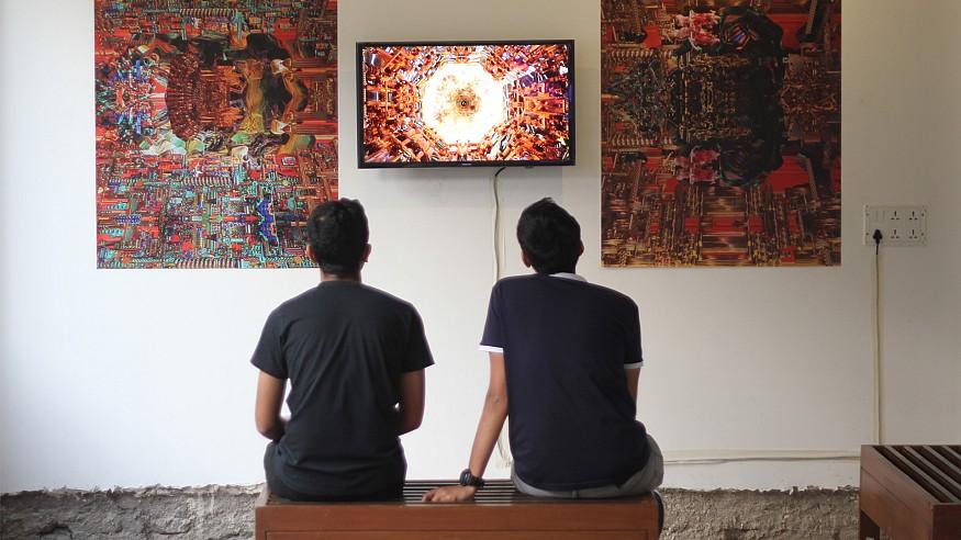 <em>Cyberia: New Media Playground</em> explored the  alternate realities in the digital age