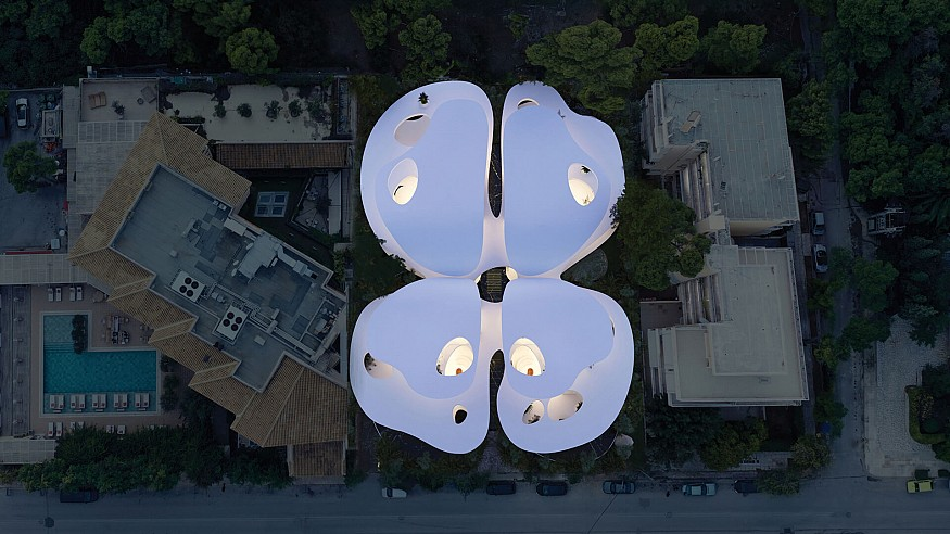 The Butterfly by 314 Architecture Studio embraces freedom and fluidity