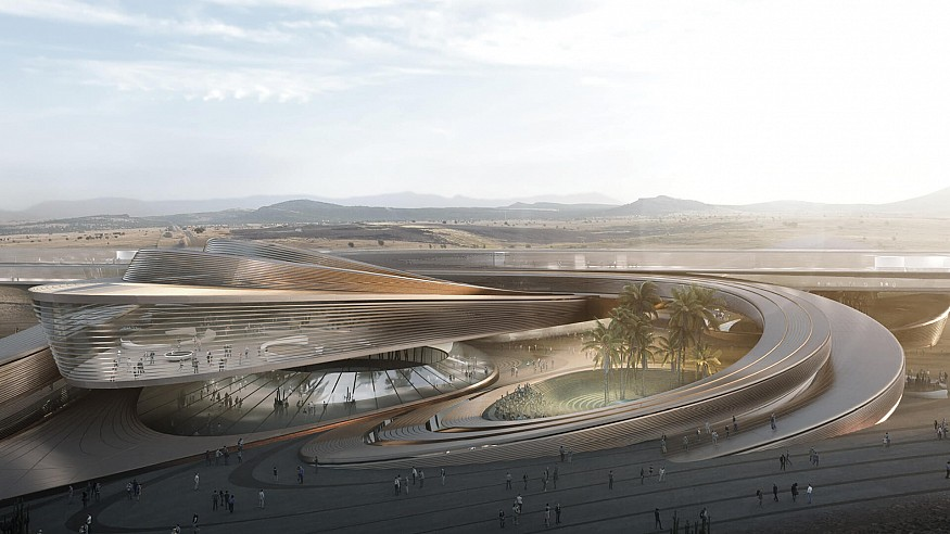 The Hyperloop Desert Campus in Nevada is a rising oasis for the future of transit