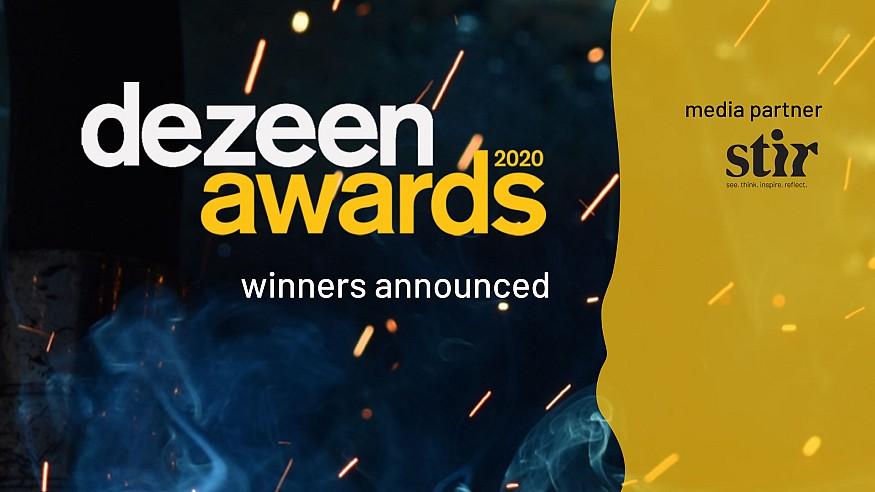 Dezeen Awards 2020 winners announced; spotlight on conscious design for the future