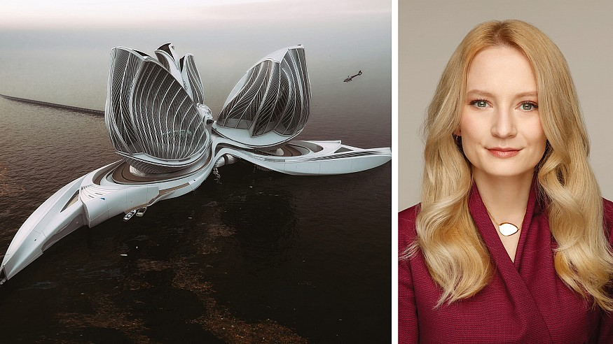In conversation with Lenka Petráková on award-winning ocean cleaning facility