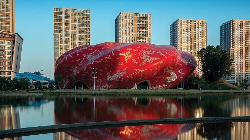 A swirling edifice: Steven Chilton Architects unveil the Sunac Guangzhou Grand Theatre