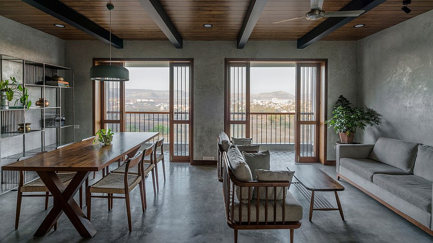A cinematographer's home in the hills of Lonavla by Amoeba Design