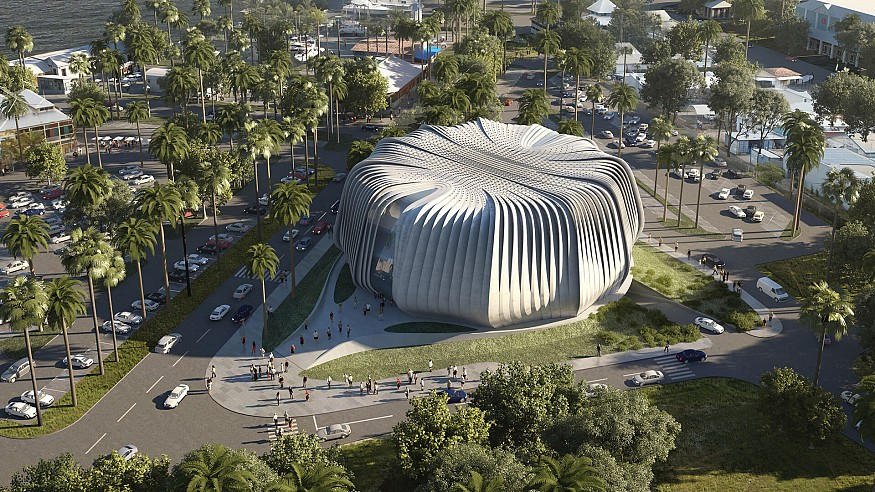 Contreras Earl Architecture designs first of its kind 'Biobank' for corals