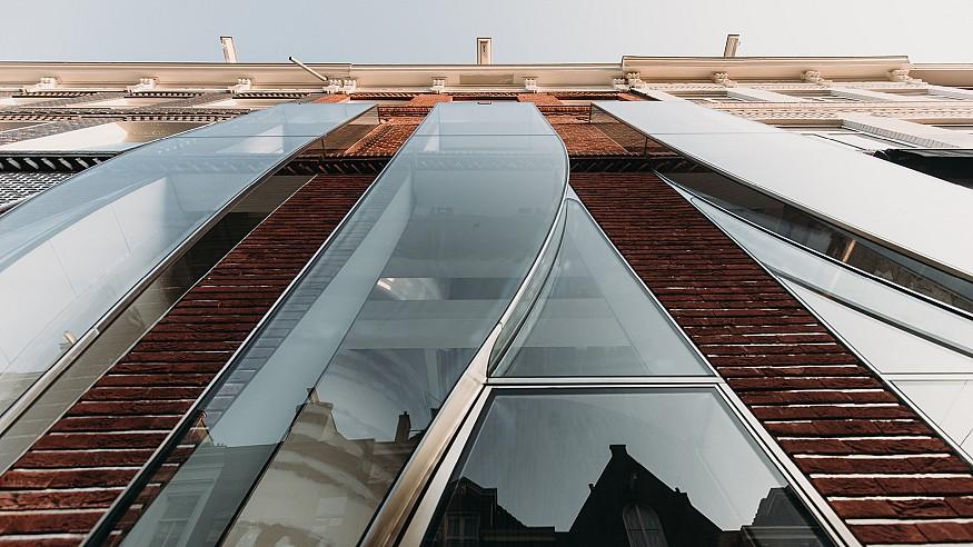 UNStudio renovates P.C. Hooftstraat 138's facade in Amsterdam, the Netherlands