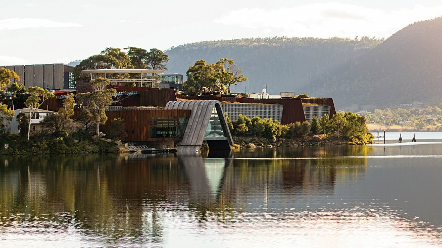 Private Museums of the World: Museum of Old and New Art (MONA)