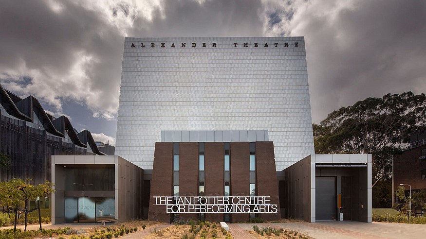 A modern refurbishment for the Ian Potter Centre for Performing Arts in Australia