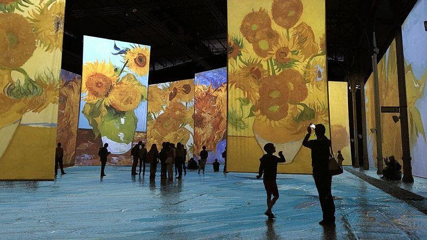 The inner world of Van Gogh comes alive at the Arsenal Contemporary Art, Montreal