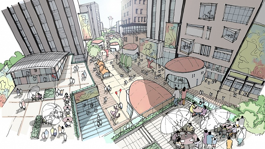 A place for all: A study in the great wide public realm