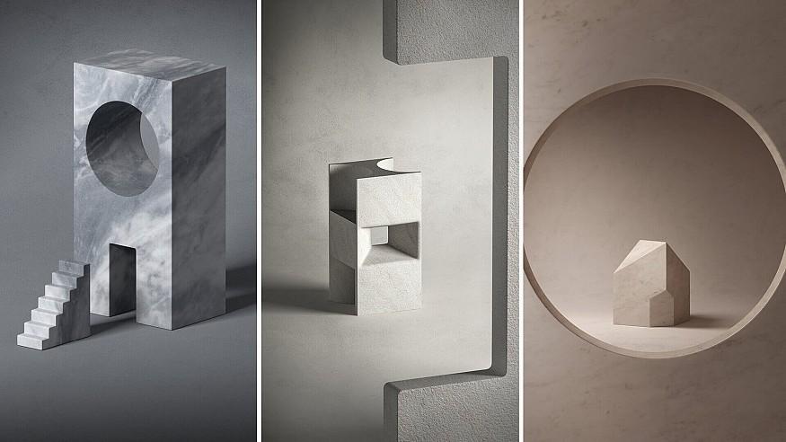 Elisa Ossino, John Pawson, Kengo Kuma design minimalist miniatures for Salvatori