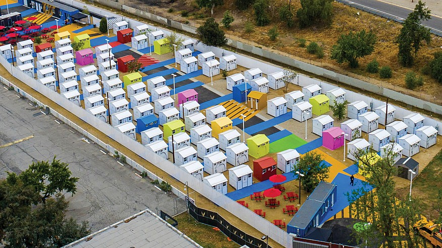 Delving into Lehrer Architects' colourful urban intervention in Los Angeles