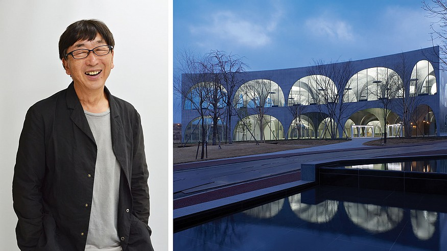 Toyo Ito wants people to be able to behave as freely as animals behave in nature