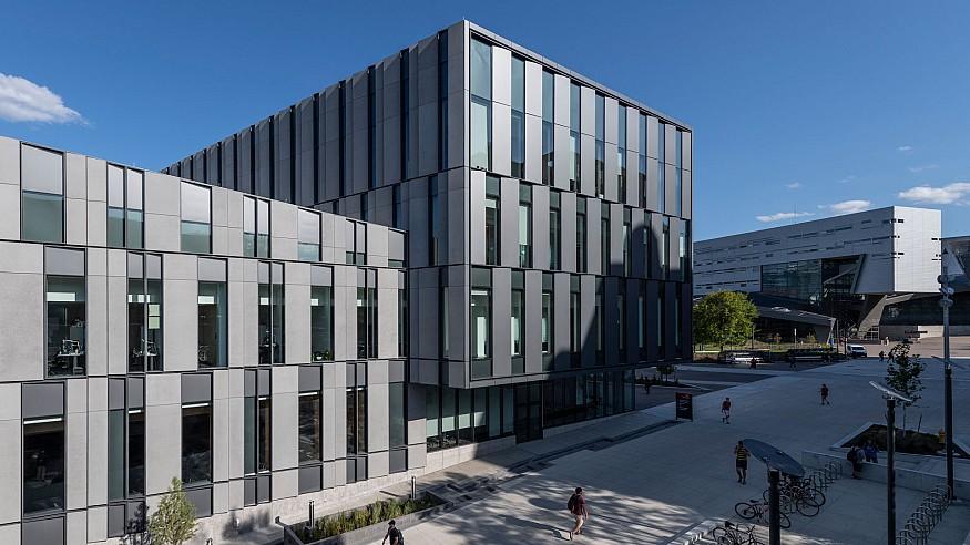 Henning Larsen debuts in North America with a business school in Cincinnati