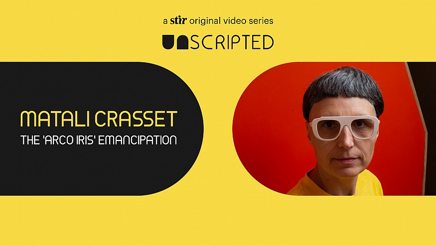 UNSCRIPTED with Matali Crasset: The 'Arco Iris' Emancipation