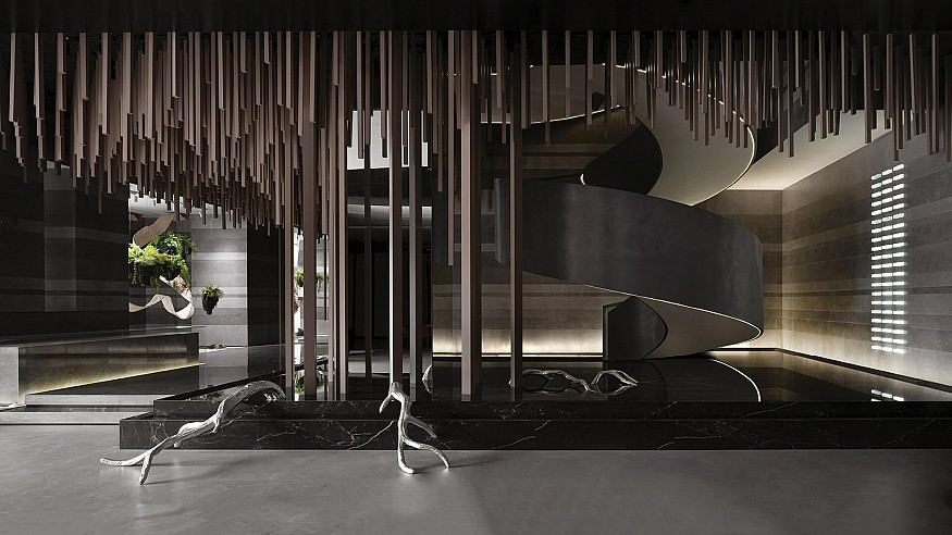 Foshan Topway Design depicts cycles of life in headquarters of VERO Tiles in China