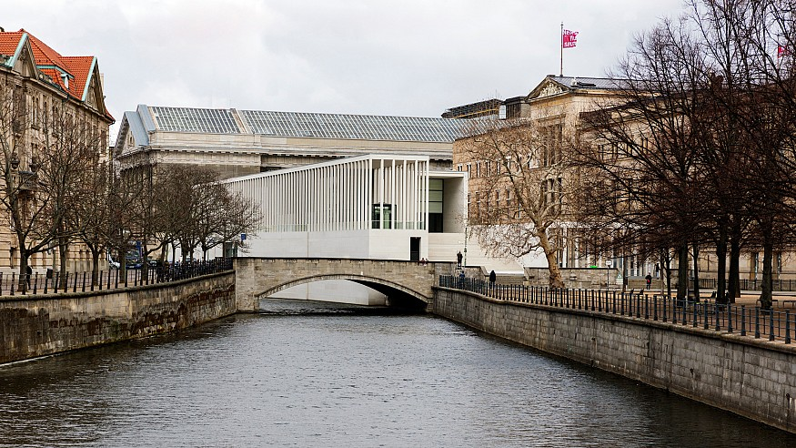 The James-Simon-Galerie by David Chipperfield Architects