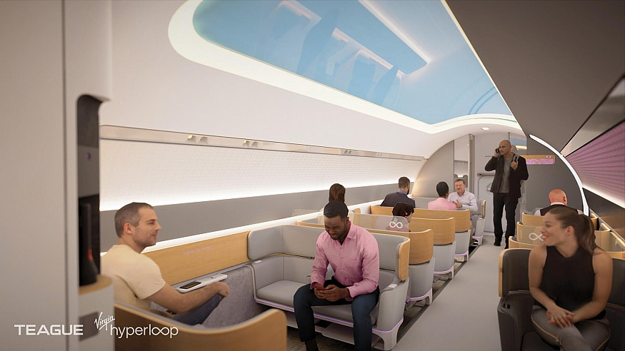 Virgin Hyperloop unveils their passenger experience vision, set to stir travel