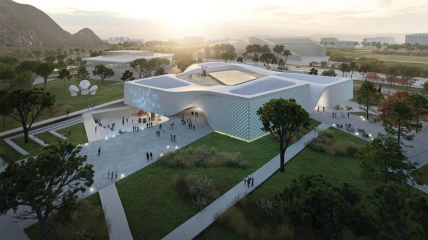 UNStudio's proposal wins competition to design Chungnam Art Museum, South Korea