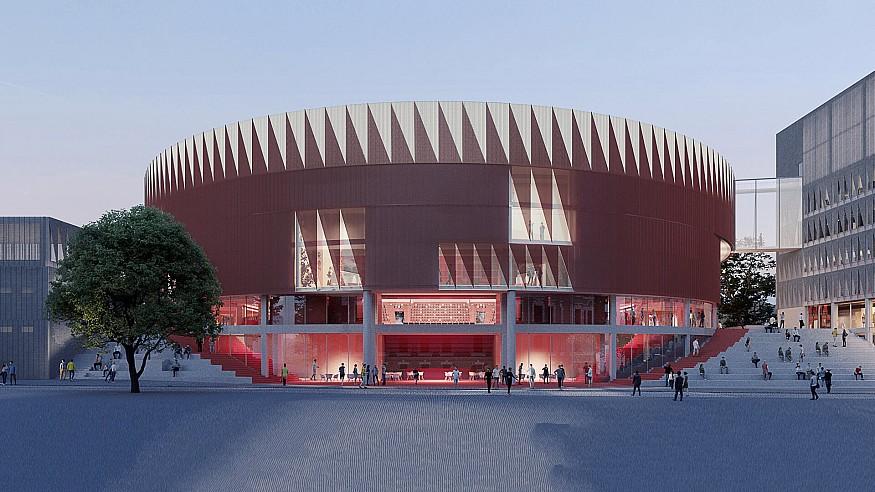 CHYBIK+KRISTOF wins contest for Jihlava Multipurpose Arena in Czech Republic
