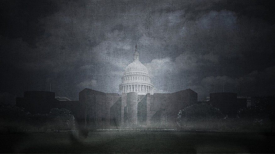 The Capitol Castle by Opposite Office imagines a fortified democracy