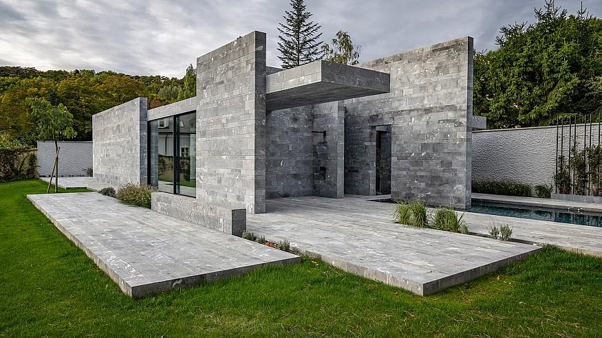 Smartvoll architects bring modern minimalism to Wellness Pavilion in Austria