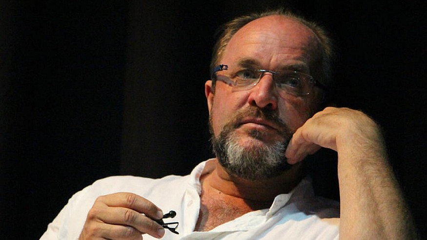 Poetic photography of the bestselling author, William Dalrymple