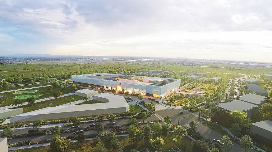 OMA designs a suburban community centre as a 'social condenser' in Wollert, Australia