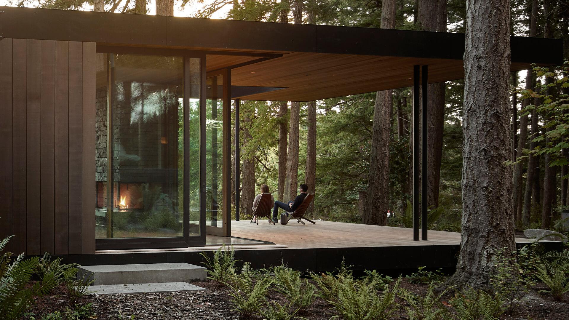 Whidbey Island Farm Retreat by Mwworks honours pastoral landscape in Washington