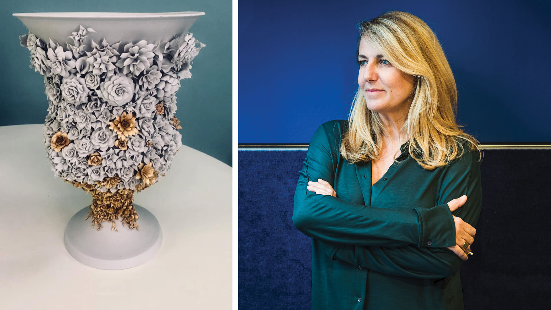 Patricia Urquiola crafts 'garden on the table' porcelain collection for EDIT Napoli
